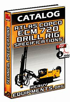 Atlas Copco Ecm720 Surface Drill Rig Technical Specs