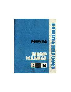 car repair manuals online free 1975 chevrolet monza on board diagnostic system manuals