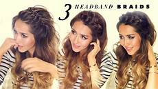3 easy peasy headband braids quick hack hairstyles for