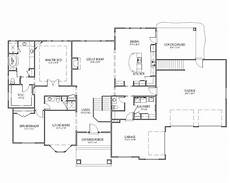 rambler house plans with walkout basement rambler house plans the mcmillan floor plan signature