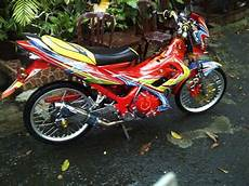 Modifikasi Motor Satria Fu Airbrush by 12 Ide Modifikasi Motor Satria Fu Airbrush Colour