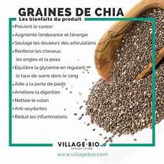 les bienfaits des graines de chia aliments bons pour la