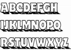 Malvorlagen Abc Alphabet Buchstaben Ausmalen Alphabet Malvorlagen A Z Alphabet