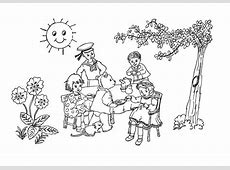 Coloring Page summer   free printable coloring pages