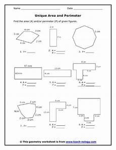 measurement perimeter worksheets 1573 area of polygons worksheets free standards met area and perimeters measurements material