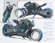 Yamaha Future Hybrid V Max Concept / By Jean Thomas MAYER
