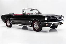 1965 Ford Mustang Black Convertible 289 Auto