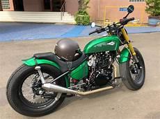 Modifikasi Motor Kawasaki W175 by Ini Motor Modifikasi Yang Ditunggangi Jokowi Ke Pasar