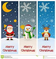 merry christmas vertical banners stock vector illustration of claus costume 35451198