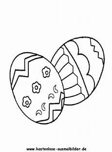 ausmalbilder malvorlagen bunte ostereier bunte ostereier 2
