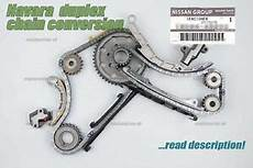 yd25 duplex timing chain conversion kit nissan navara d40 2 5 yd25 genuine duplex timing chain kit conversion upgrade ebay