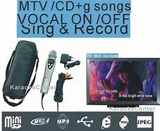 magic microphone karaoke machine portable karaoke system sing along record play ktv mtv cdg