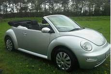 Vw Beetle Cabriolet Convertible 2004 Silver In Lincoln