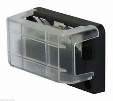 12 volt fuse box and cover buss bar 12 way with 6 circuit fuse box modular kit 12v 24v junction box 100 ebay