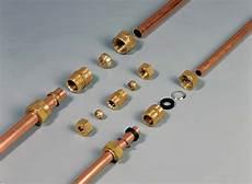 raccord mécanique plomberie assembler des en cuivre par raccord m 233 canique diy