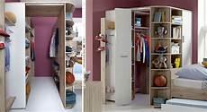 Begehbarer Kleiderschrank Für Kinder - begehbarer eck kleiderschrank f 252 r jugend oder