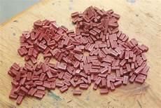 Hochwertige Baustoffe Ziegelsteine Modellbau Herstellen