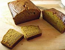 maple or honey sweetened pumpkin bread in the kitchen with kath