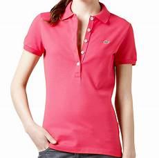 polo shirt damen lacoste original polo stretch uni shirt damen kurzarm