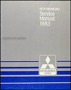 auto repair manual online 1984 mitsubishi starion electronic toll collection 1983 mitsubishi starion repair shop manual original