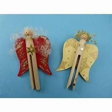 Wäscheklammern Basteln Weihnachten - engel aus rundkopfklammern crafts for