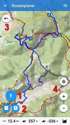 New Handy Route Planner And Simple Track Editor In Locus