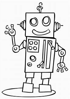 robots coloring pages coloring pages