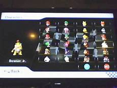 Mario Kart Wii All Characters Karts And Bikes Unlocked