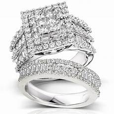 kobelli 2 5 8 carats ct tw bold diamond wedding rings in 14k white gold
