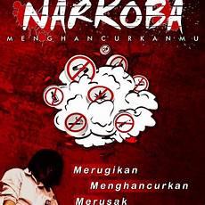 Gambar Ilustrasi Poster Narkoba Hilustrasi