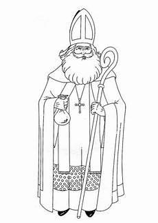 Malvorlage Bischof Nikolaus Malvorlage Sankt Nikolaus Ausmalbilder Nikolaus