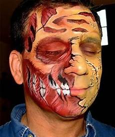 and strange peoples with painted faces pics