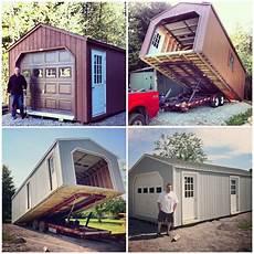 mobile garage door 14 x 32 portable garage 448sq ft country sheds