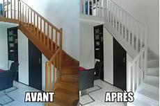 peinture meuble bois interieur peindre un escalier en bois home sweet home escalier