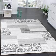 designer teppich wohnzimmer teppich kurzflor muster real