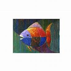 Jual Beli Hm123 Lukisan Ikan Abstrak Baru Jual Beli