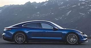 2020 Porsche Taycan Electric Car Takes Aim At Tesla