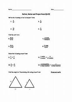ratios unit rates and proportions quiz by miss taddeucci