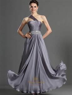 Gallery Grey Bridesmaid Dresses grey one shoulder a line chiffon bridesmaid dresses