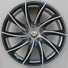 alfa romeo giulia wheels 18 original new rims anthracite