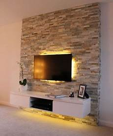 tv wall panel effects on the wall bastion stones