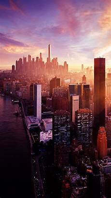 nyc 4k wallpaper iphone new york sunset city skyline iphone 5 wallpaper hd free