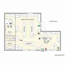 plan de magasin magasin vente de peinture rayonnage plan 4 pi 232 ces 76 m2
