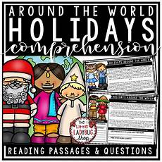 winter reading comprehension worksheets 3rd grade 20182 winter holidays around the world reading comprehension passages 3rd grade 4th grade reading