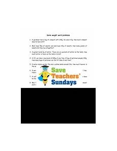 weight word problems ks2 worksheets lesson plans powerpoint how to rucsac and answer frame