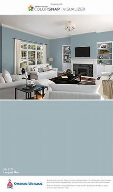 i found this color with colorsnap 174 visualizer for iphone by sherwin williams languid blue sw