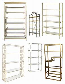 etagere metal the brass 233 tag 232 re distinctive open shelving of form