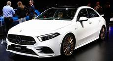 2019 Mercedes A Class Sedan Fits A Whole Lot Of Style Into
