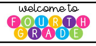 Image result for 4th grade welcome image