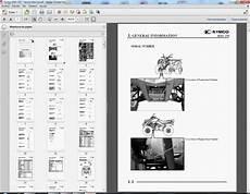 kymco mxu 250 workshop service repair manual parts wiring owners ebay